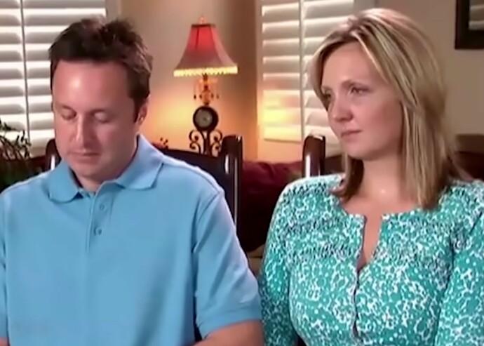 UTENKELIG SORG: I intervjuet med Oprah i 2010 fortalte Chris og Lori Coble om dagen de mistet sine tre barn – og livet etterpå. FOTO: Skjermdump via YouTube @OWN