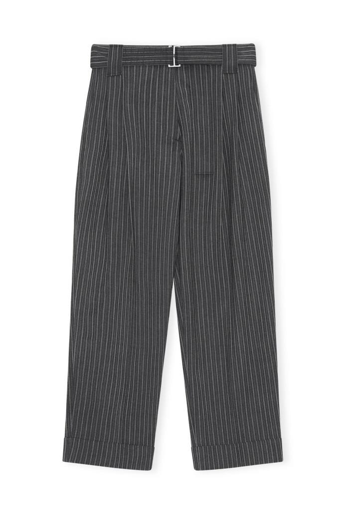Bukse med belte (kr 3295, Ganni).