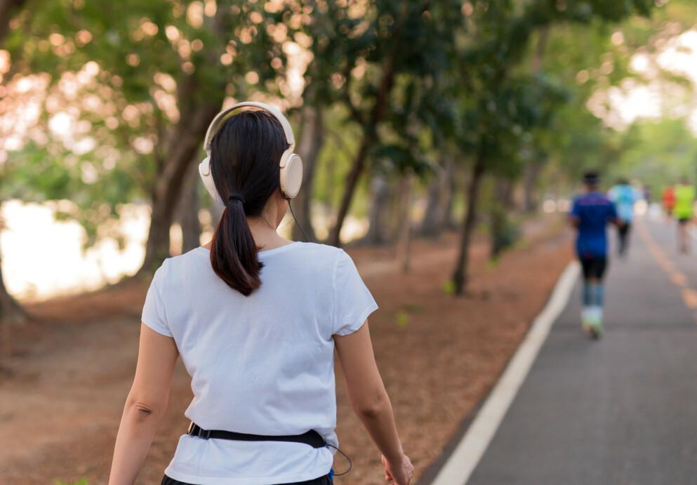 Hvor langt og fort må man gå for at det kan kalles en treningsøkt? Eksperten svarer! FOTO: NTB
