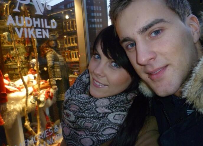 FLYTTET TIL NORGE: I august 2012 flyttet Austėja fra Litauen til Norge, for å bo sammen med kjæresten Lars. FOTO: Privat