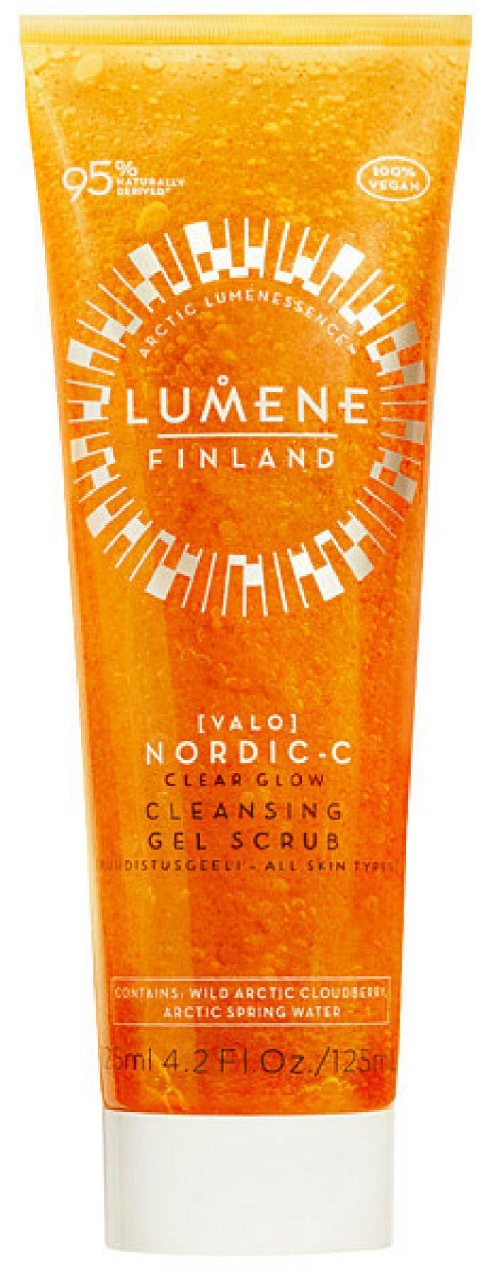 Nordic-C Clear Glow Cleanser (kr 180, Lumene). FOTO: Produsenten
