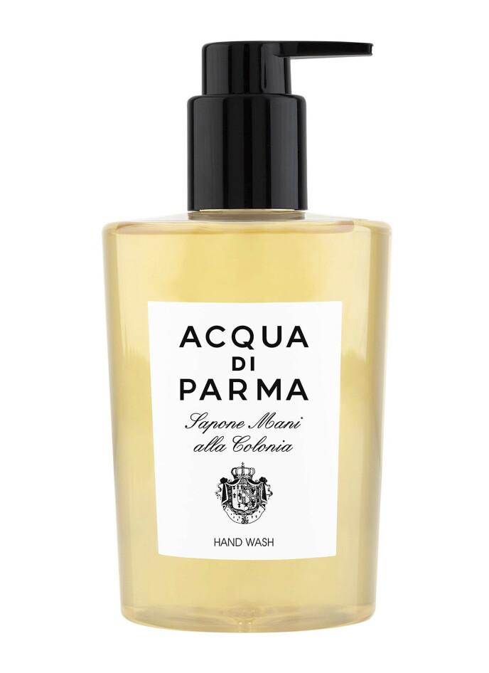 Colonia Hand Wash, 300 ml (kr 405, Acqua Di Parma). FOTO: Produsenten