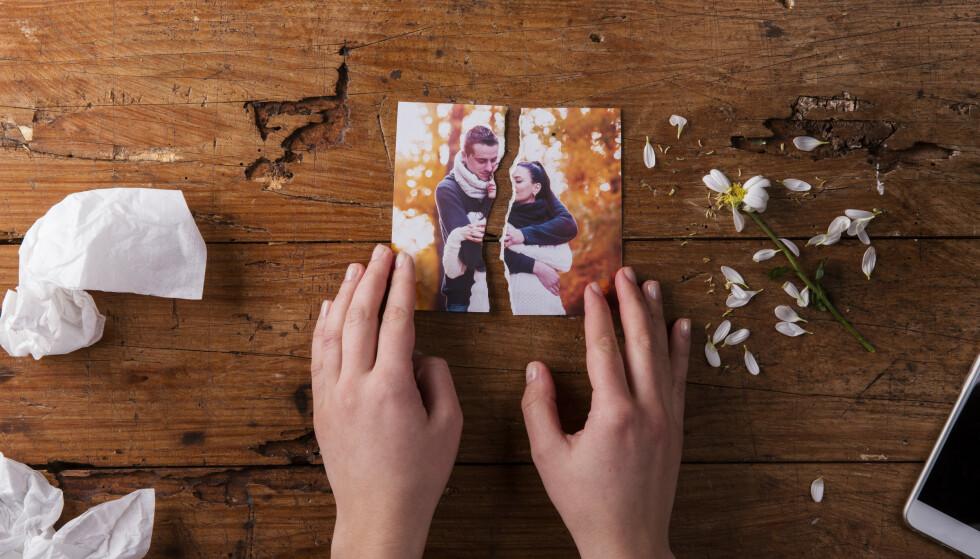 BRUDD: Det kan ta lang tid før du innser at de små endringene mellom dere betyr at forholdet går mot slutten.
