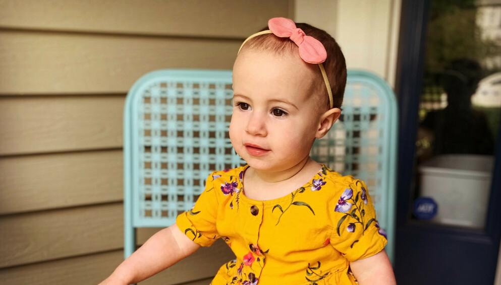 CHLOE WIEGAND: Den skjønne, lille jenta ble bare halvannet år. Bestefaren har påtatt seg skylden for barnebarnets død. FOTO: NTB