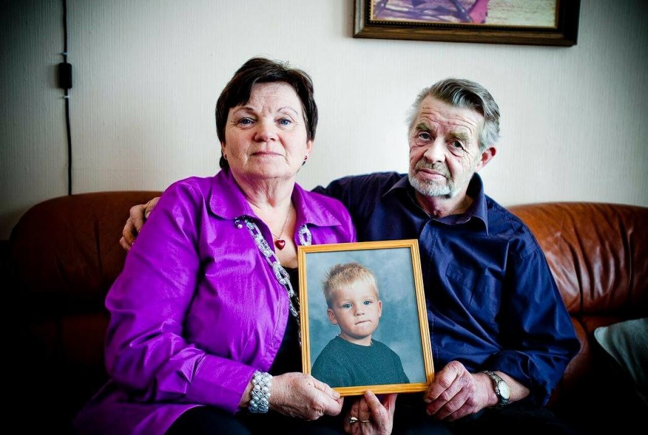 BESTEFORELDRENE: Ragnhild og Gunnar Gjerstad er mormor og morfar til Christoffer. FOTO: Thomas Rasmus Skaug / Dagbladet