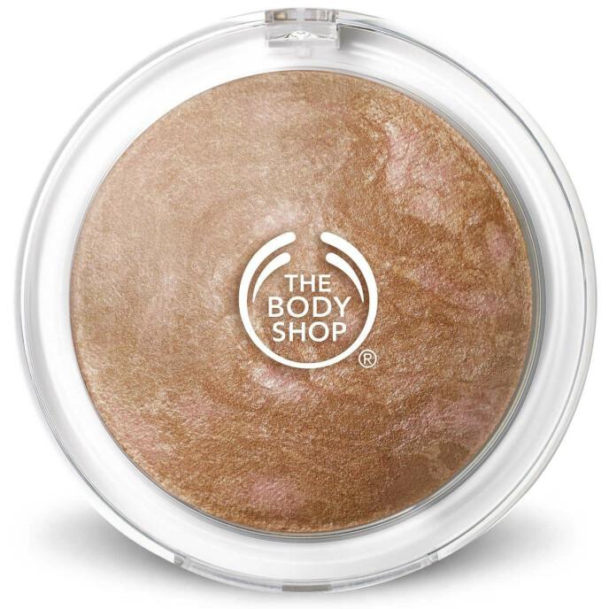 Baked Bronzer (kr 280, The Body Shop). FOTO: Produsenten
