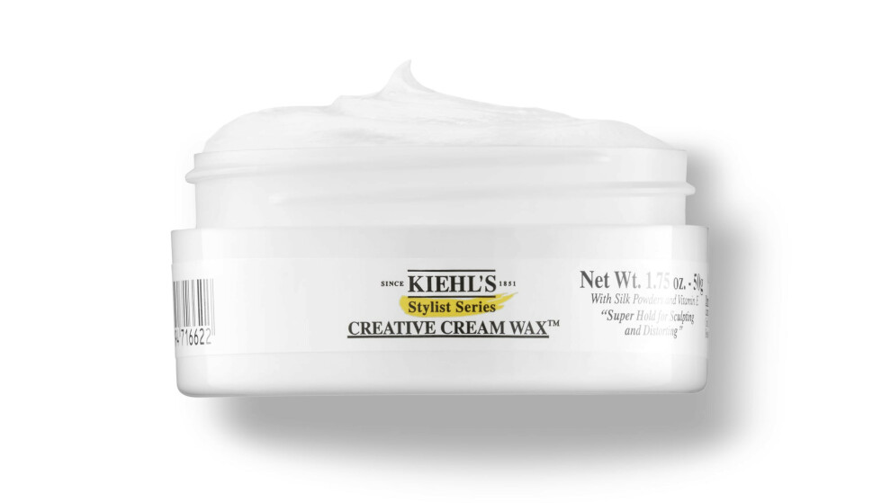 Creative Cream Wax (kr 190, Kiehl's). FOTO: Produsenten