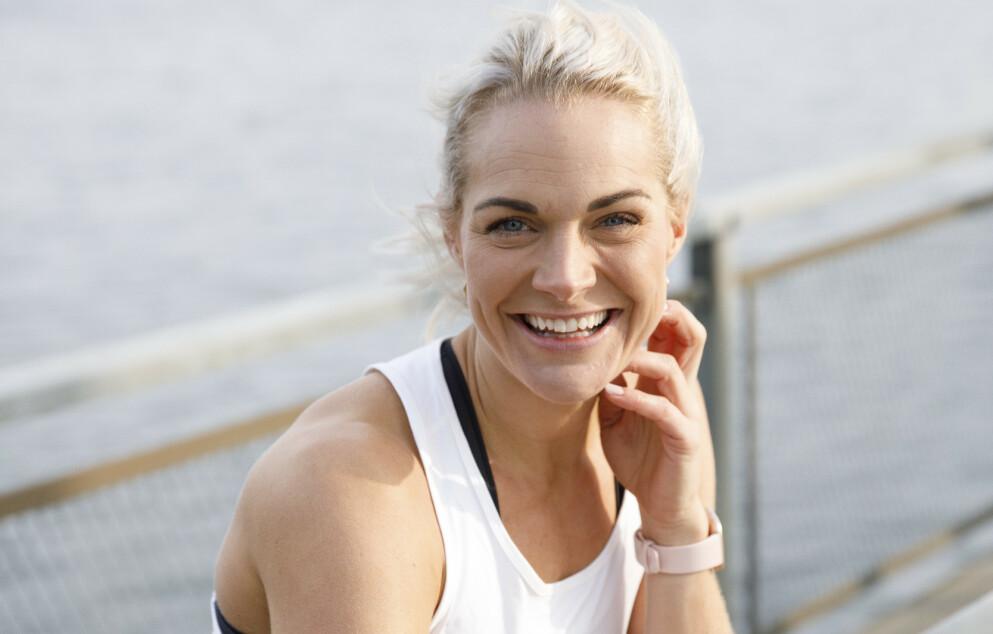 TRENINGSINSPIRATØR: Tobarnsmor Catrine Collins er en av Norges største treningsinfluensere. FOTO: Rasmus Kongsøre