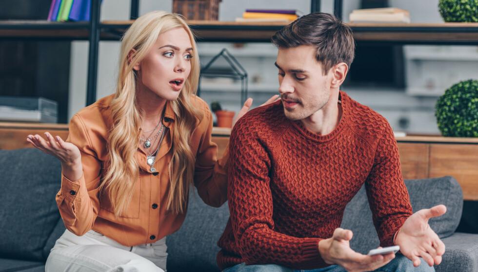 GIFTIGE ROLLEMØNSTRE: Noen rollemønstre er så destruktive at de til slutt vil ta knekken på parforholdet. FOTO: NTB Scanpix