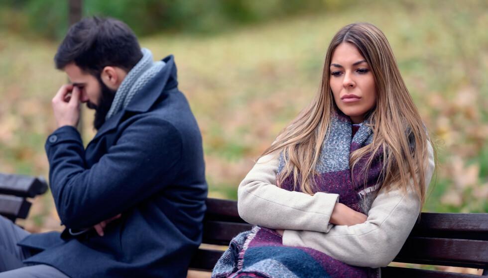 EN DÅRLIG DAG: Ikke la mangel på søvn eller jobbstress ødelegge den gode stemningen i parforholdet.