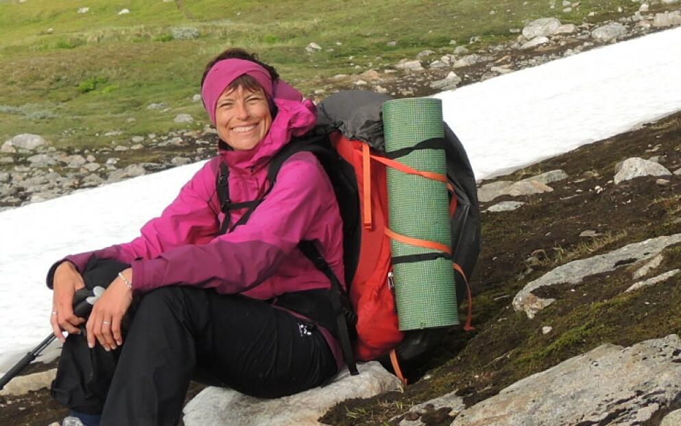 NY VENDING: Diagnosen Inger Karin fikk som 23-åring skulle forandre livet hennes for alltid. FOTO: Privat