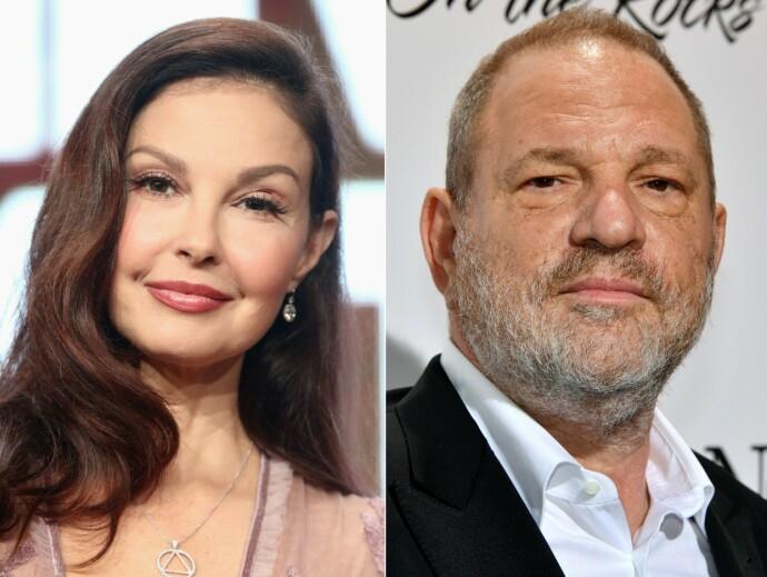 TIL SAK: En amerikansk domstol avgjorde at Ashley Judd hadde rett til å gå til sak mot Hollywood-produsent Harvey Weinstein, for seksuell trakassering. En lavere domstol hadde tidligere avslått et slikt søksmål. FOTO: NTB