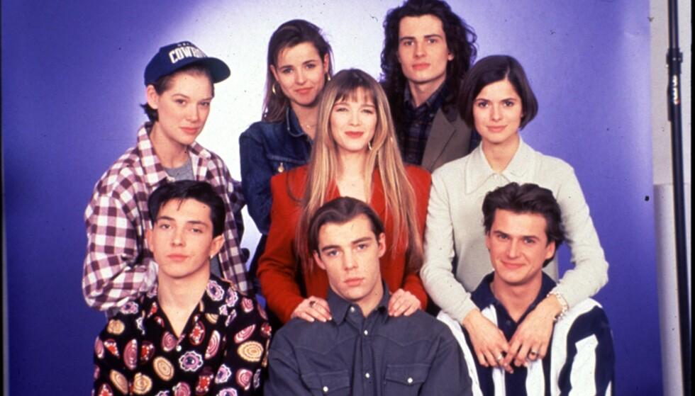 SUPERPOPULÆR: Husker du «Helene og gutta»? Den superpopulære serien tok verden med storm, men så ble det stille fra hovedpersonene. Mye har skjedd siden siste episode ble vist i 1994. Foto: TV 2