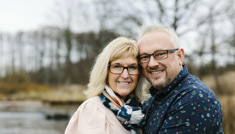 UVENTET MATCH: Hvordan finner man den store kjærligheten etter 50? Helena Löf Pettersson var aktiv i foreningslivet, testet nettdating og var ute på byen, men lykkes ikke med å finne den rette. Men puslespillbitene falt på plass da hun traff Magnus. FOTO: Karin Vivar