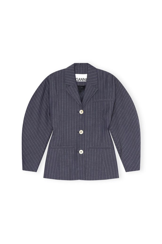 Stripete blazer (kr 3295, Ganni).