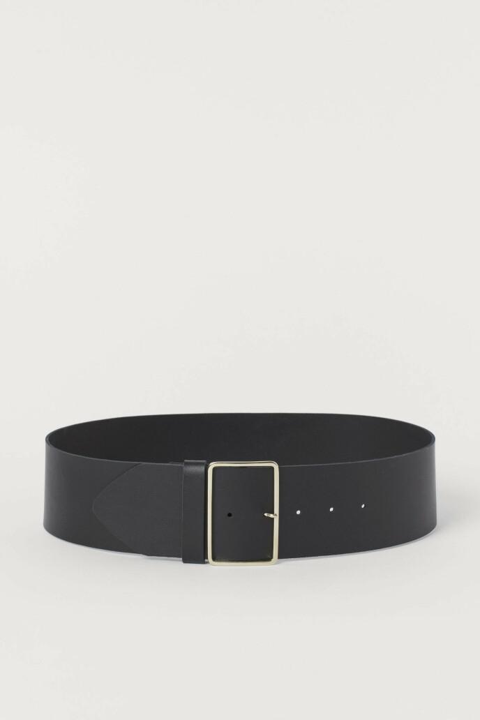Stilrent og minimalistisk (kr 200, H&M).