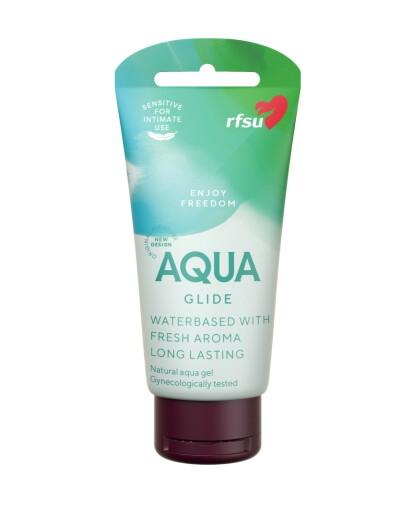 ALLSIDIG: RFSU Sense Me Aqua Glide er til bruk for alle og til all slags bruk. FOTO: RFSU