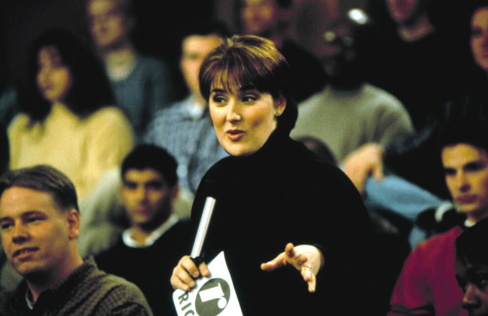 RICKI LAKE: Den populære programlederen Ricki Lake ledet et av de mest omdiskuterte talkshowene på 90-tallet. FOTO: NTB