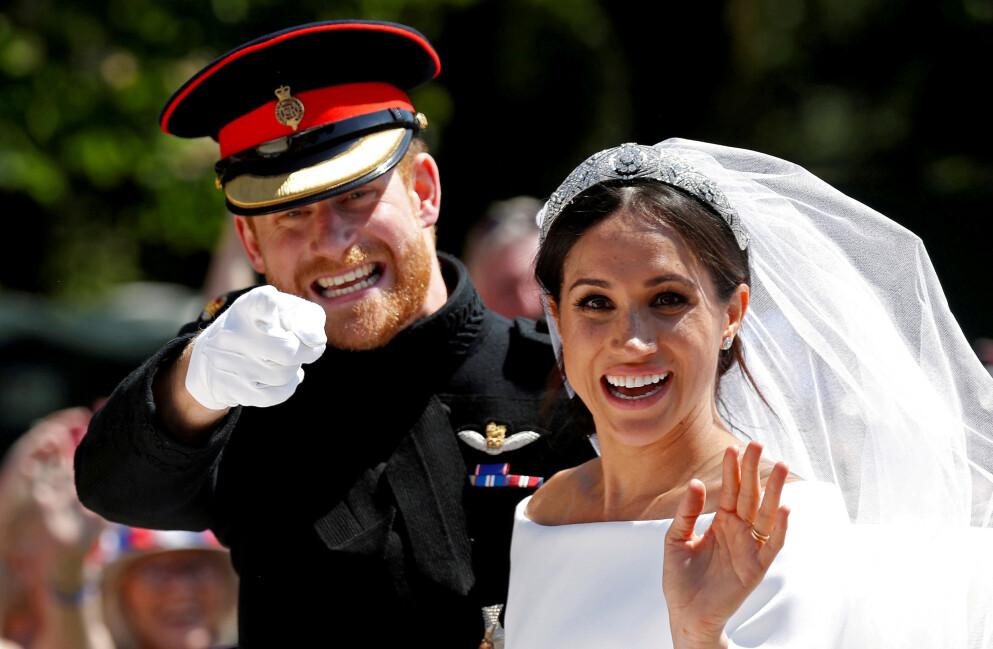 ET NYTT LIV: Det ble for mye for hertugparet av Sussex i London. Derfor bestemte prins Harry og hertuginne Meghan å flytte familien til Santa Barbara i California. Foto: NTB