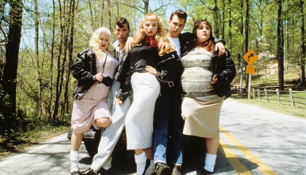 CRY BABY: Ricki Lake spilte side om side med kjekkasen Johnny Depp i kultfilmen Cry baby fra 1990. FOTO: NTB