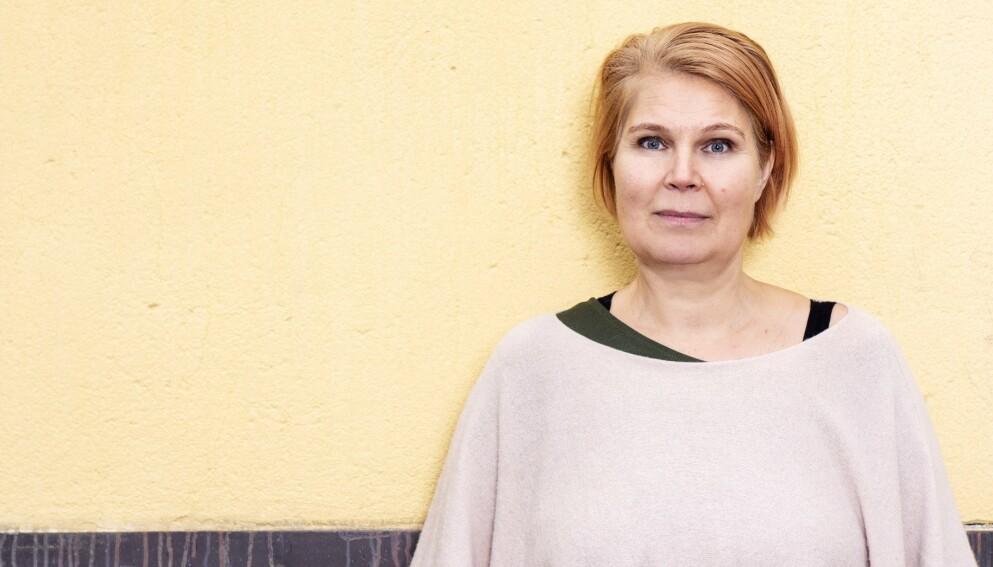VELLYKKET FASADE: Ulrika Skogland hadde et høyt alkoholforbruk, samtidig som hun sjonglerte jobb og tre barn. Men etterhvert innrømte hun både ovenfor seg selv og sjefen at hun var blitt alkoholiker. FOTO: Theresia Köhlin
