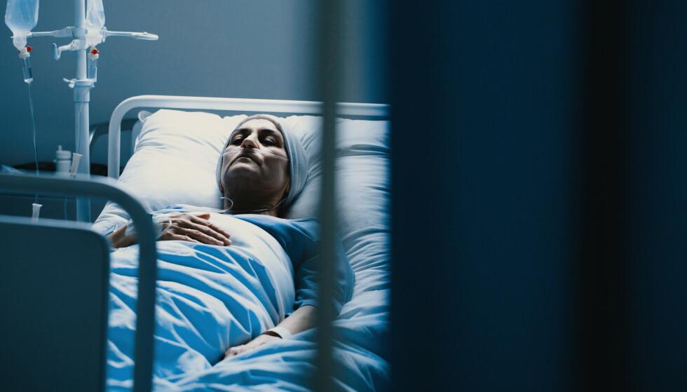 DØENDE: Sykehusprestene forteller at de døende sjelden angrer på ting de faktisk gjorde, men heller det ugjorte. Foto: NTB