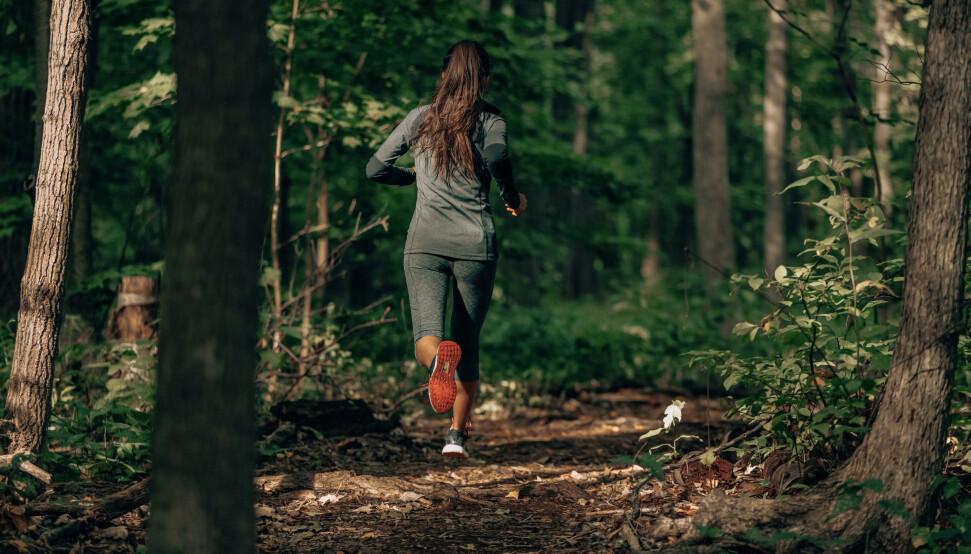 ETTERFORBRENNING: Kan tidspunktet du trener påvirke forbrenningen? FOTO: NTB