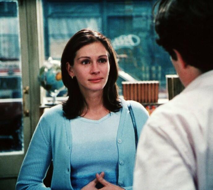1999: Julia Roberts i filmen Notting Hill. Foto: NTB