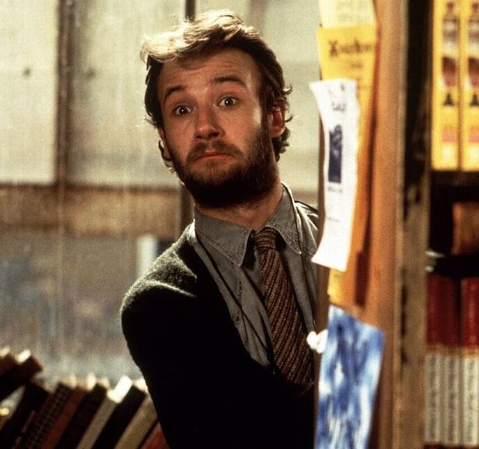 1999: James Dreyfus i Notting Hill. Foto: Skjermdump fra filmen