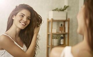 Har håret ditt lav, medium eller høy porøsitet?