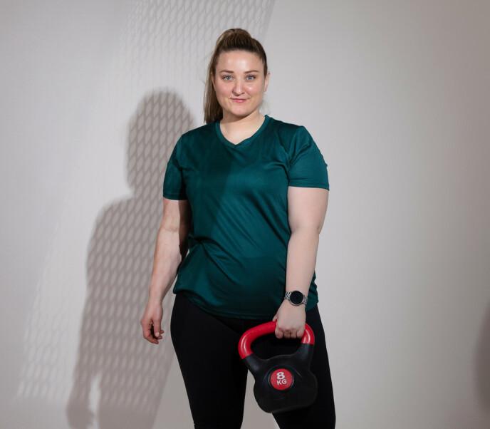 Carina opplevde at formen ble merkbart bedre da hun begynte med styretrening.