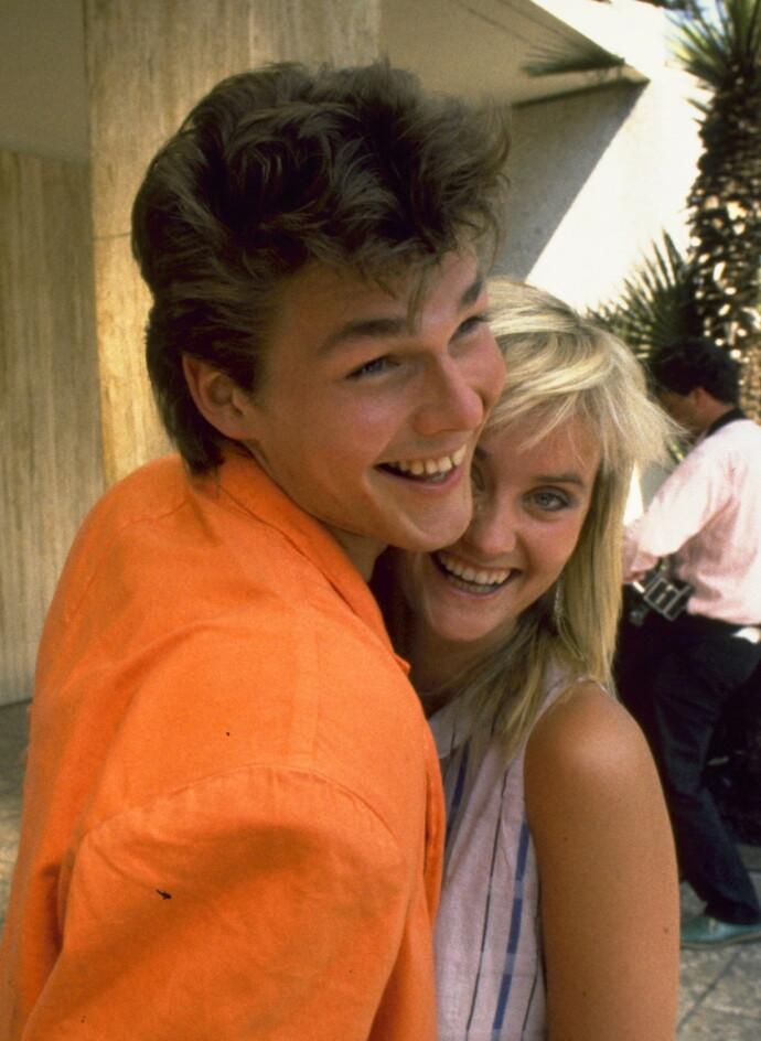 MUSIKKJOURNALIST: Hege Duckert har et lidenskapelig forhold til pop og rock, og som ung musikkjournalist dekket hun blant annet A-ha-turneen i California i 1986. Her med selveste Morten Harket. FOTO: Tom Martinsen/Dagbladet