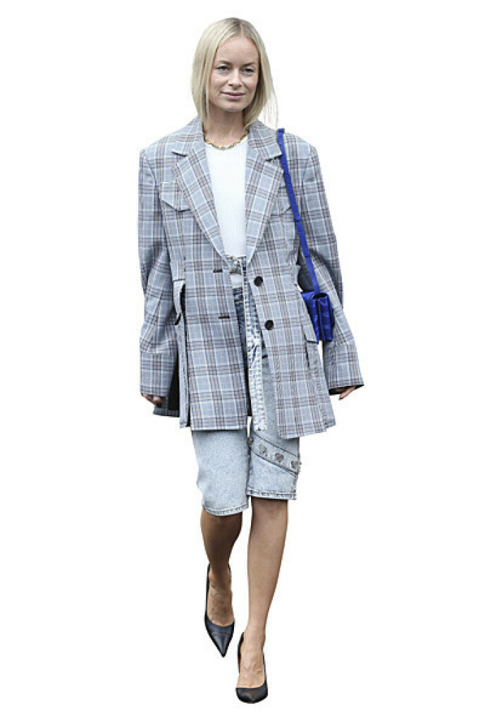Bytt ut dressbuksen med en cityshorts for et oppdatert antrekk. FOTO: NTB