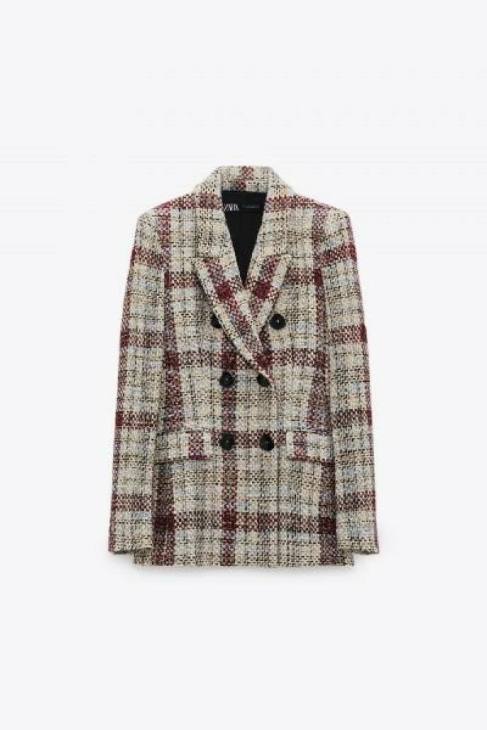 Tweed (kr 900, Zara).