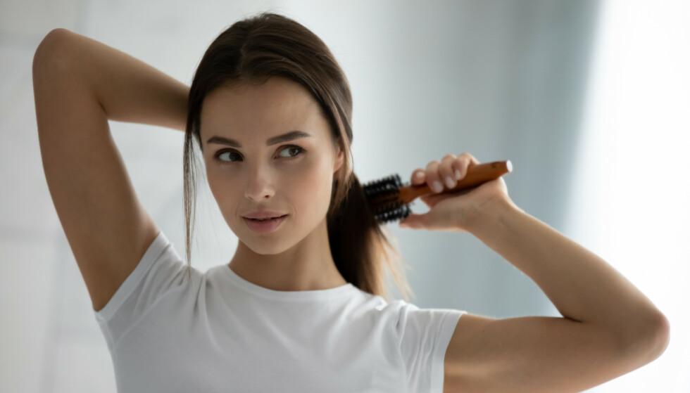 HÅRBØRSTE: Kan hårbørsten virkelig bli så skitten? FOTO: NTB