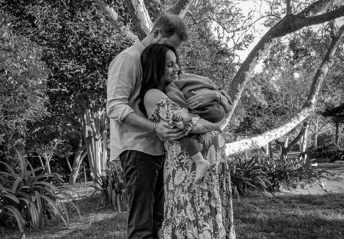 LYKKE OVER ATLANTEREN: Prins Harry og Meghan bor i dag i Santa Barbara i California, og fokuserer på det som er aller viktigst for dem; barna, hundene og veldedighetsprosjektene. Til sommeren blir de foreldre til datter. FOTO: NTB