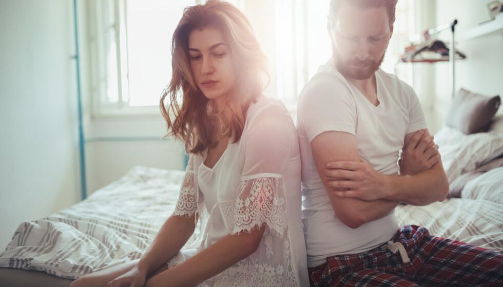 FØLELSESLØS: Hva skal du med en partner som møter deg med kulde og følelsesløshet, spør eksperten. FOTO: NTB