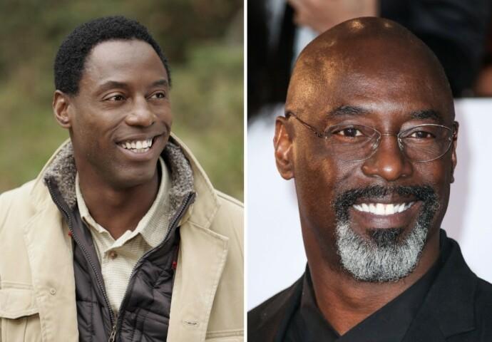 FØR OG NÅ: Isaiah Washington i 2005 til venstre og i 2020 til høyre. FOTO: NTB