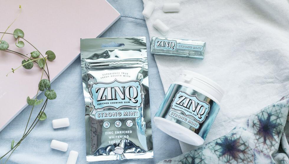 Tre smaker: Velg mellom Strong Mint for sterk og langvarig smak, mellomsterk Spearmint og Sweet Mint for mildere mintsmak.