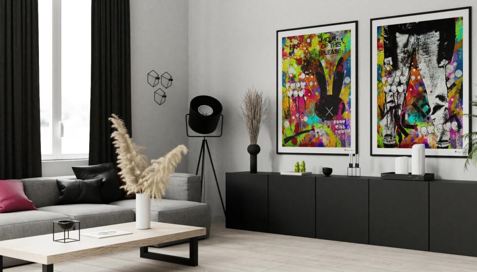 Forny hjemmet med kunst som blikkfang