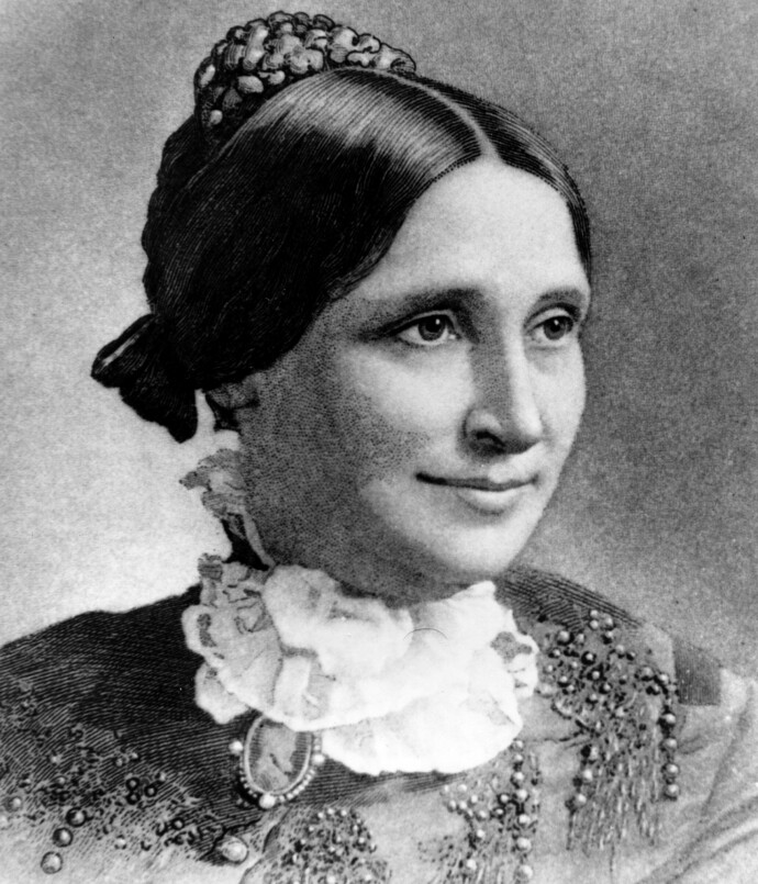 FØRST UT: Førstedame Lucy Hayes var den som startet tradisjonen med å invitere barn til eggrullingen i 1878. FOTO: NTB