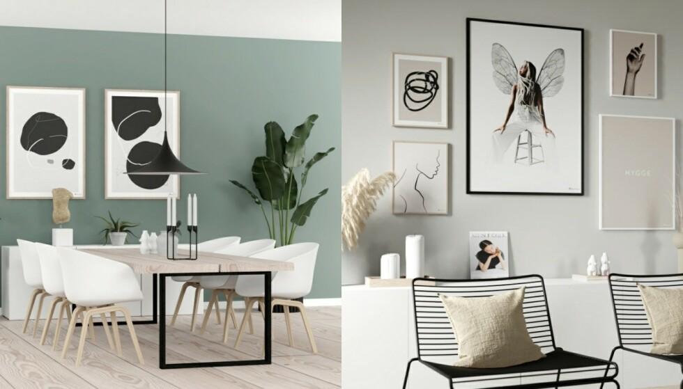 Nordisk: Abstrakt minimalisme er perfekt til typisk nordiske hjem.