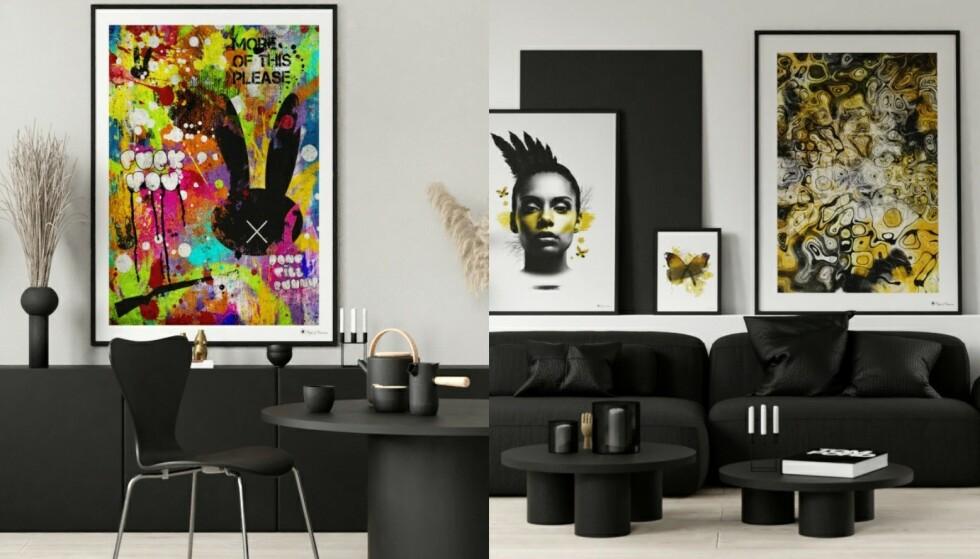 Vågalt: Farger skaper glede, og er perfekt å plassere et sted der du ønsker at latteren skal sitte løst.