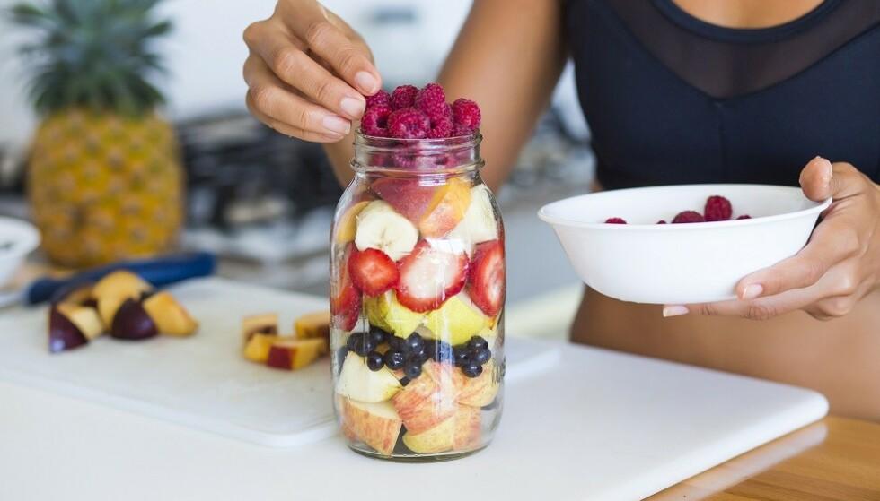 SUNN MAT OG LITE SUKKER: Fokuser på mer grønnsaker, mat med mye fiber og nok proteiner. FOTO: NTB