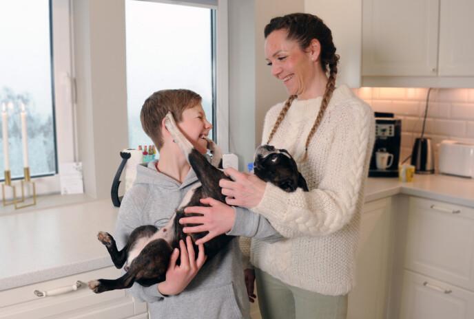 GODE DAGER: Familien har funnet tilbake til den gode hverdagen. FOTO: Marianne Otterdahl-Jensen