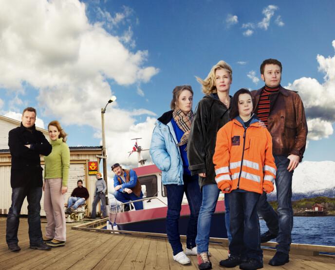 HIMMELBLÅ: NRK-serien ble en enorm suksess, og ble den best sette norske dramaserien gjennom tidene frem til 2015. FOTO: NRK