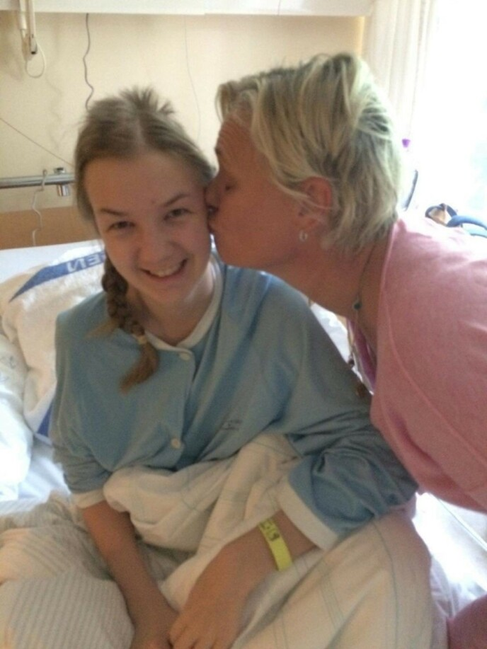 STAYER: - At det er viktig ikke å gi opp, er Ida et strålende eksempel på, sier mor Inge. FOTO: Privat