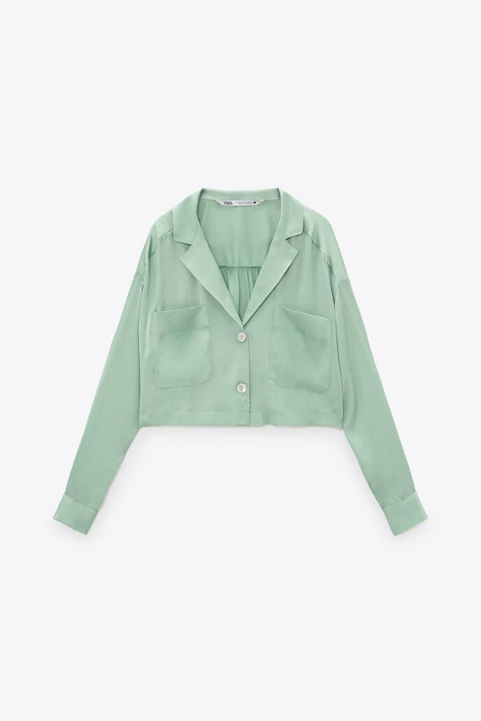 Blank bluse (kr 280, Zara).