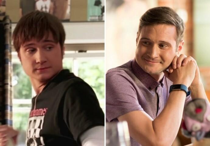 DA OG NÅ: James Kirk i 2006 til venstre og i 2018 til høyre. FOTO: NTB