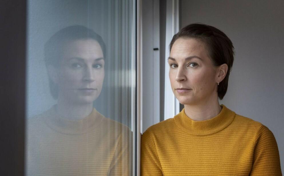 DYSMORFOFOBI: I 15 år gikk Johanna rundt og følte seg så stygg at det styrte hele livet hennes. FOTO: Lasse Edwartz